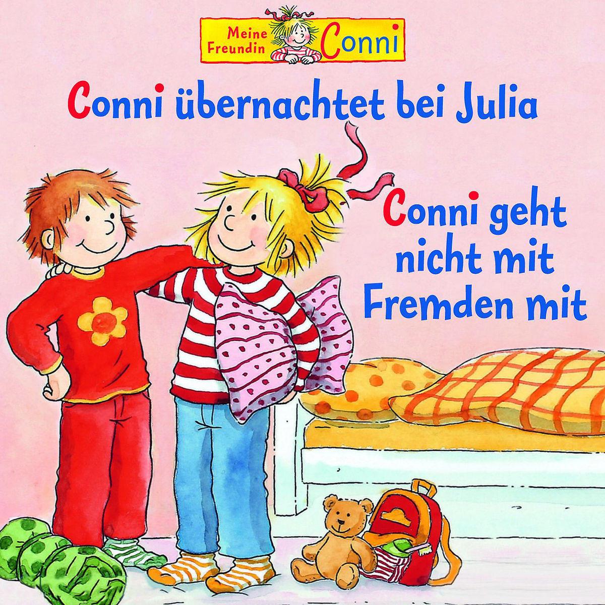 Conni - 37 - übernachtet bei Julia / geht nicht mit Fremden