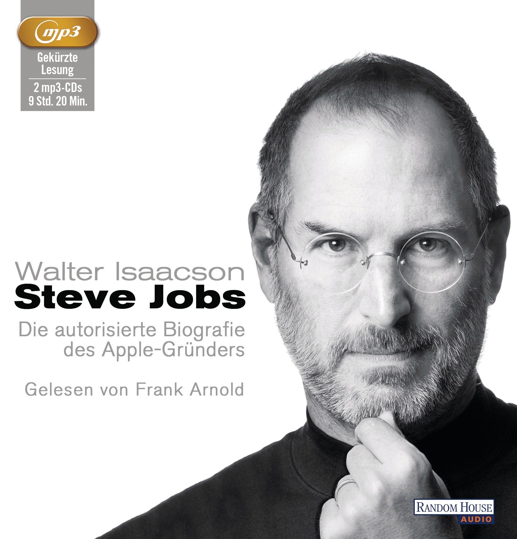 Walter Isaacson - Steve Jobs (mp3-CDs)