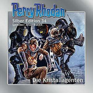 Perry Rhodan Silber Edition Nr. 34 Die Kristallagenten