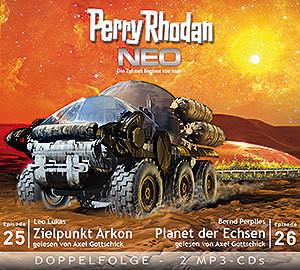 Perry Rhodan Neo MP3 Doppel-CD Folgen 25+26