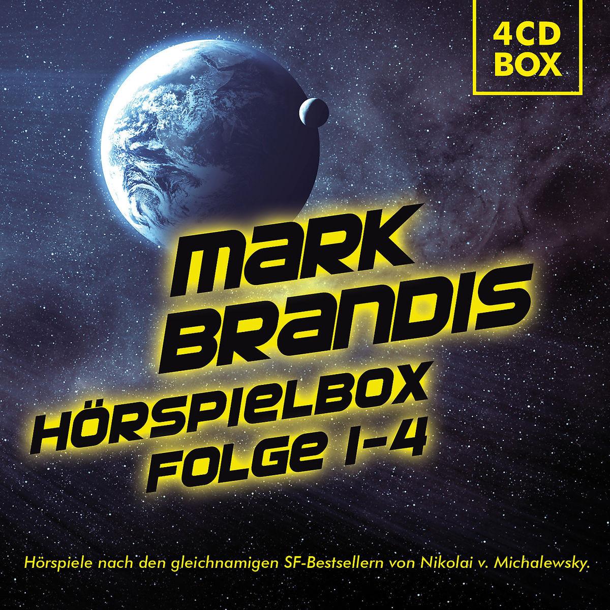 Mark Brandis - Hörspielbox - Folge 01-04