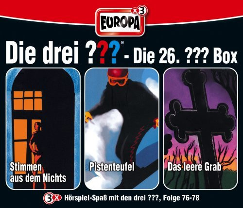 Die drei Fragezeichen Fan Box die 26. Folgen 76 - 78