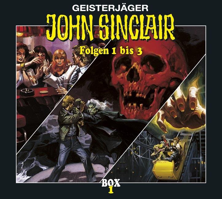 John Sinclair - Box 1 - Folge 1 bis 3