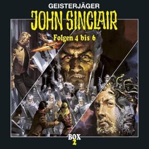 John Sinclair - Box 2 - Folge 4 bis 6