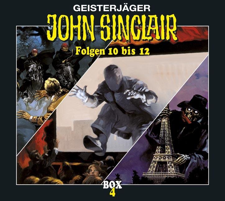 John Sinclair - Box 4 - Folge 10 bis 12