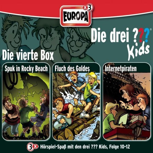 Die drei ??? Kids Box 4 Folge 10 - 12