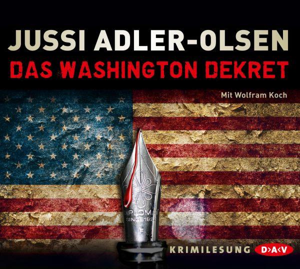 Jussi Adler-Olsen - Das Washington-Dekret