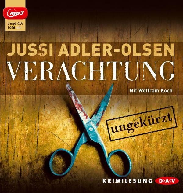 Jussi Adler-Olsen - Verachtung (ungekürzte - mp3-CDs)