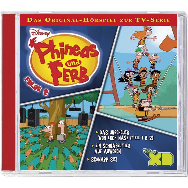 Disney: Phineas und Ferb - Folge 2