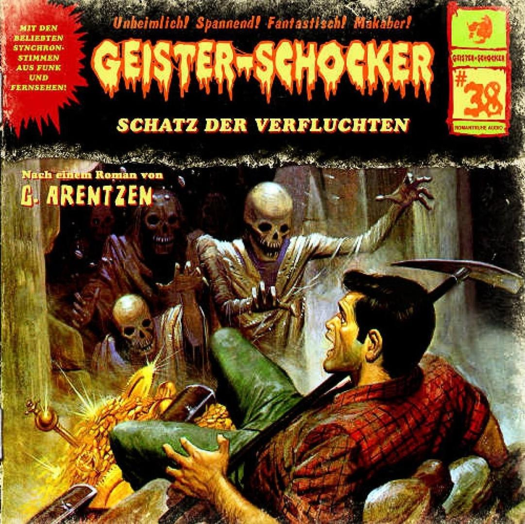 Geister-Schocker 38 Schatz der Verfluchten