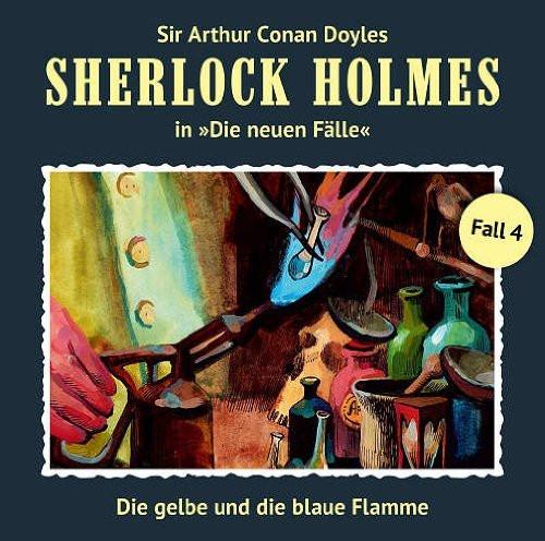 Sherlock Holmes: Die neuen Fälle 04: Die Gelbe Und Die Blaue Fla