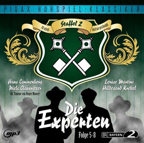 Pidax Hörspiel Klassiker - Die Experten - Vol. 2