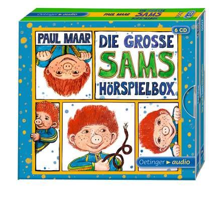 Die große Sams-Hörspielbox (6 CDs)