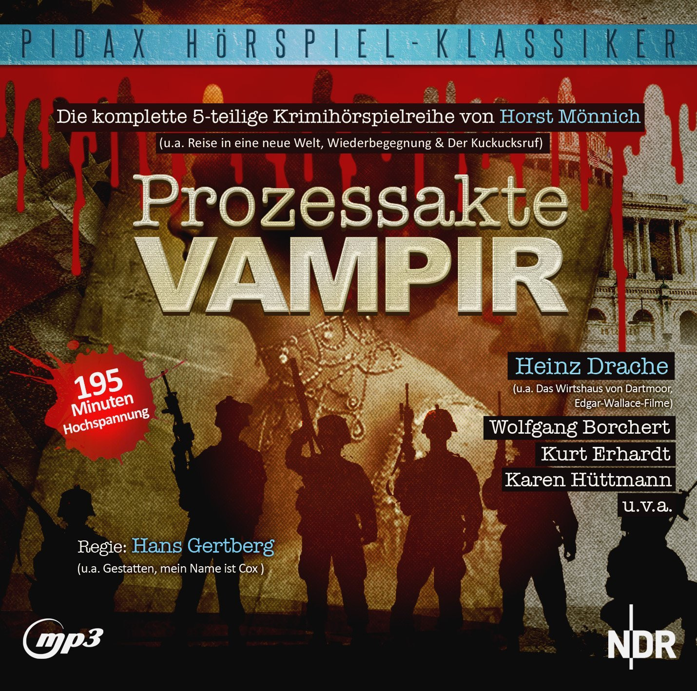Pidax Hörspiel Klassiker - Prozessakte Vampir