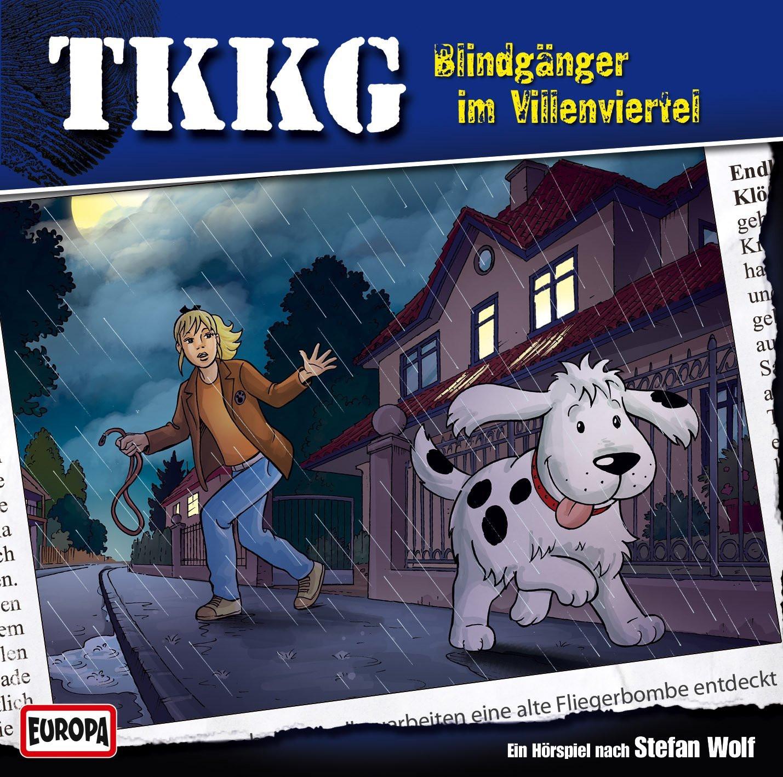 TKKG Folge 183 Blindgänger im Villenviertel