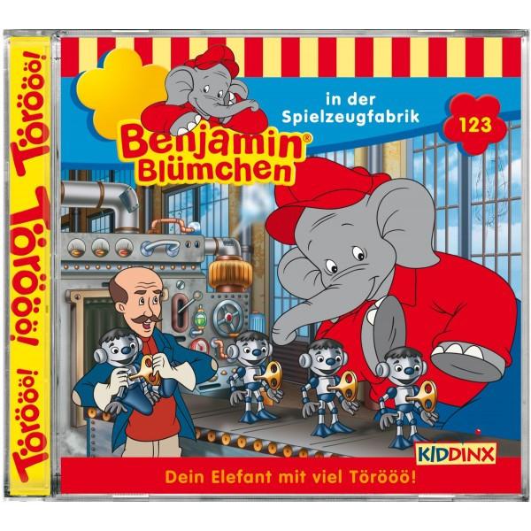 Benjamin Blümchen Folge 123 Benjamin Blümchen in der Spielzeugfa
