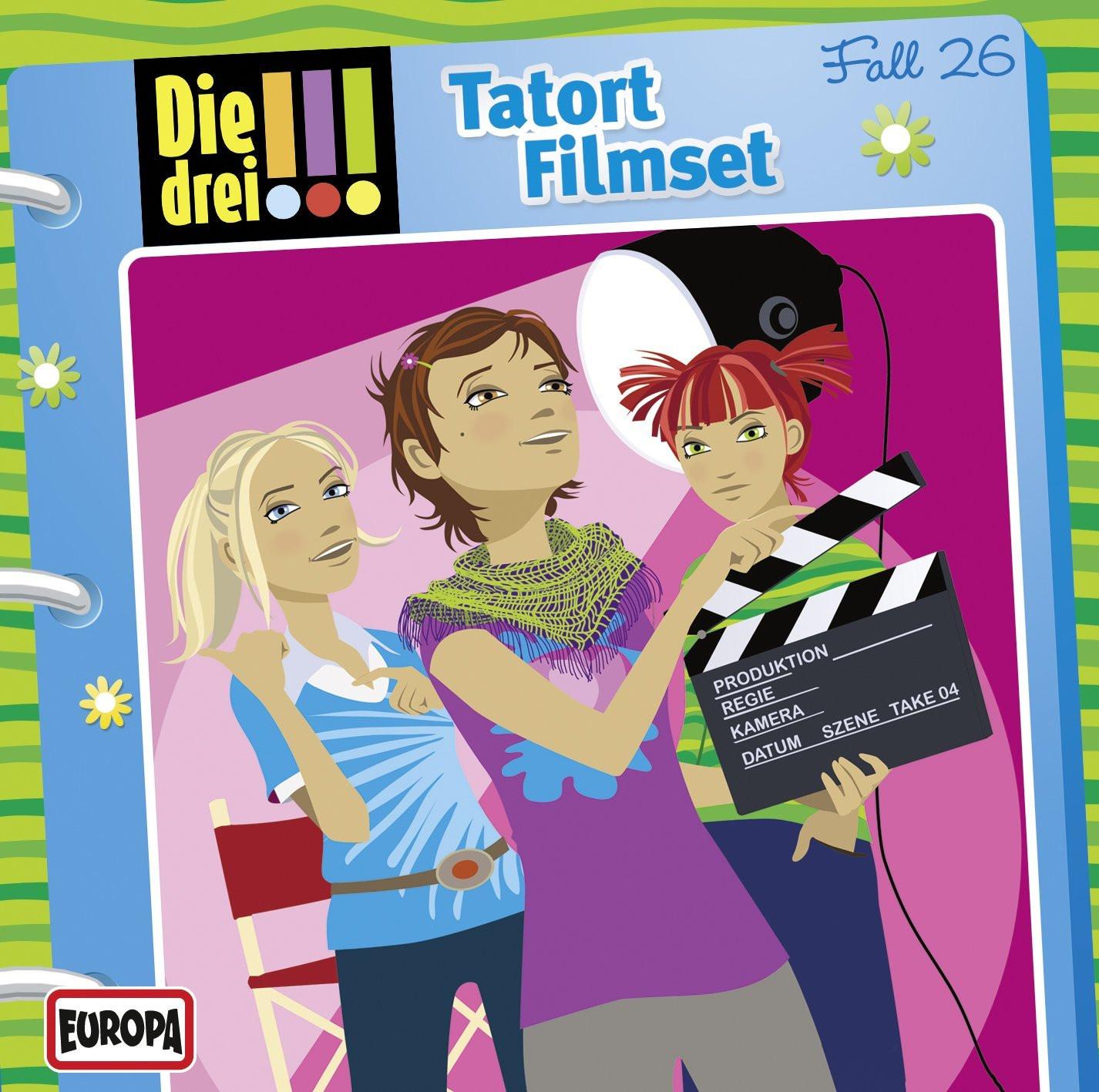 Die drei Ausrufezeichen 026 Tatort Filmset