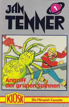 MC Kiosk Jan Tenner 01 Angriff der grünen Spinnen