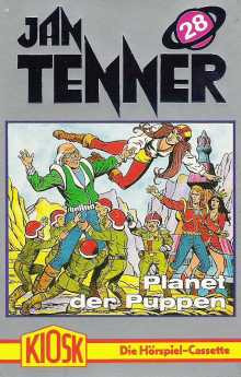 MC Kiosk Jan Tenner 28 Planet der Puppen