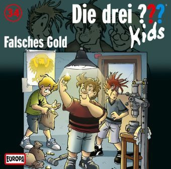 Die drei ??? Kids Folge 34 Falsches Gold