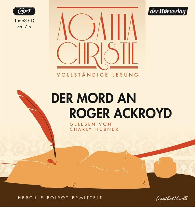 Agatha Christie - Der Mord an Roger Ackroyd (Vollständige Les.)