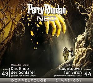 Perry Rhodan Neo MP3 Doppel-CD Folgen 43+44