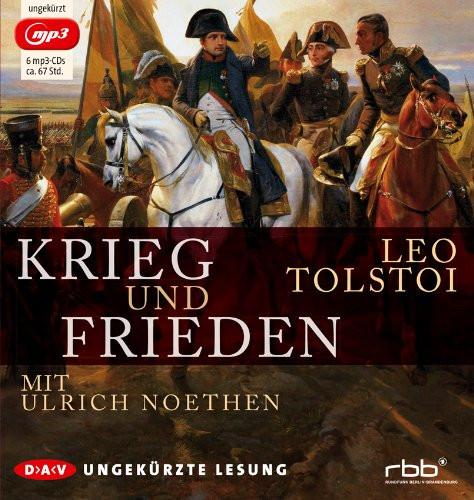Lew Tolstoi - Krieg und Frieden (ungekürzte Lesung   6 mp3-CDs)