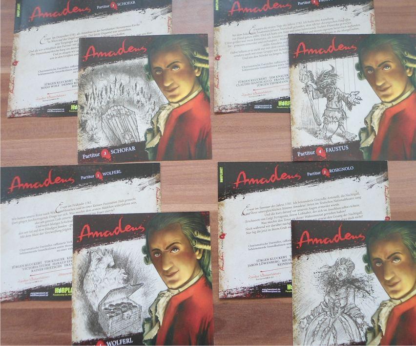 AMADEUS - Die neuen Layouts (CD Cover)