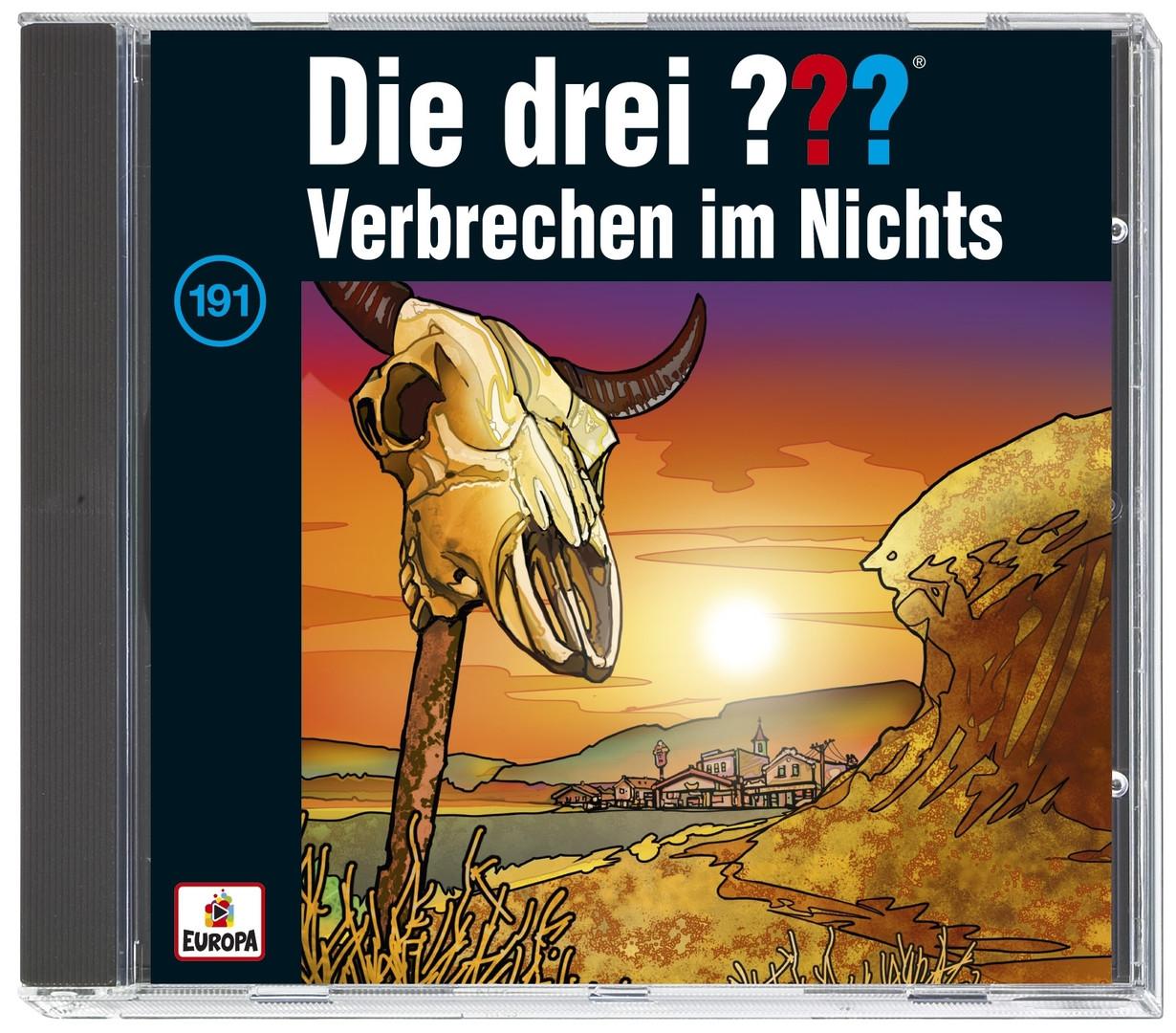 Die drei ??? Fragezeichen - Folge 191: Verbrechen im Nichts (CD)