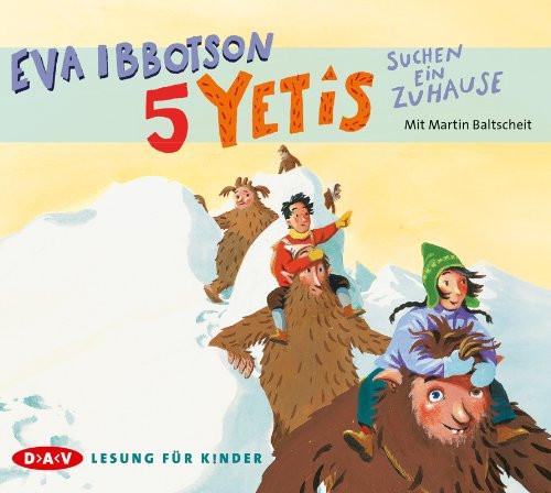 Eva Ibbotson - 5 Yetis suchen ein Zuhause