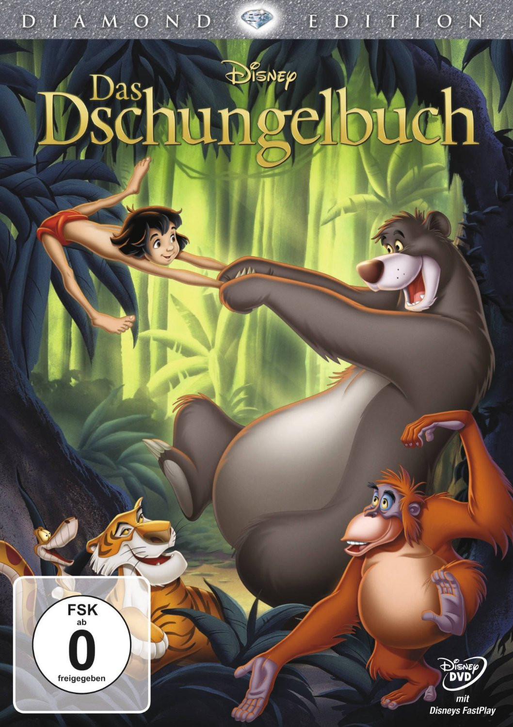 Walt Disney - Das Dschungelbuch (Diamond Edition)