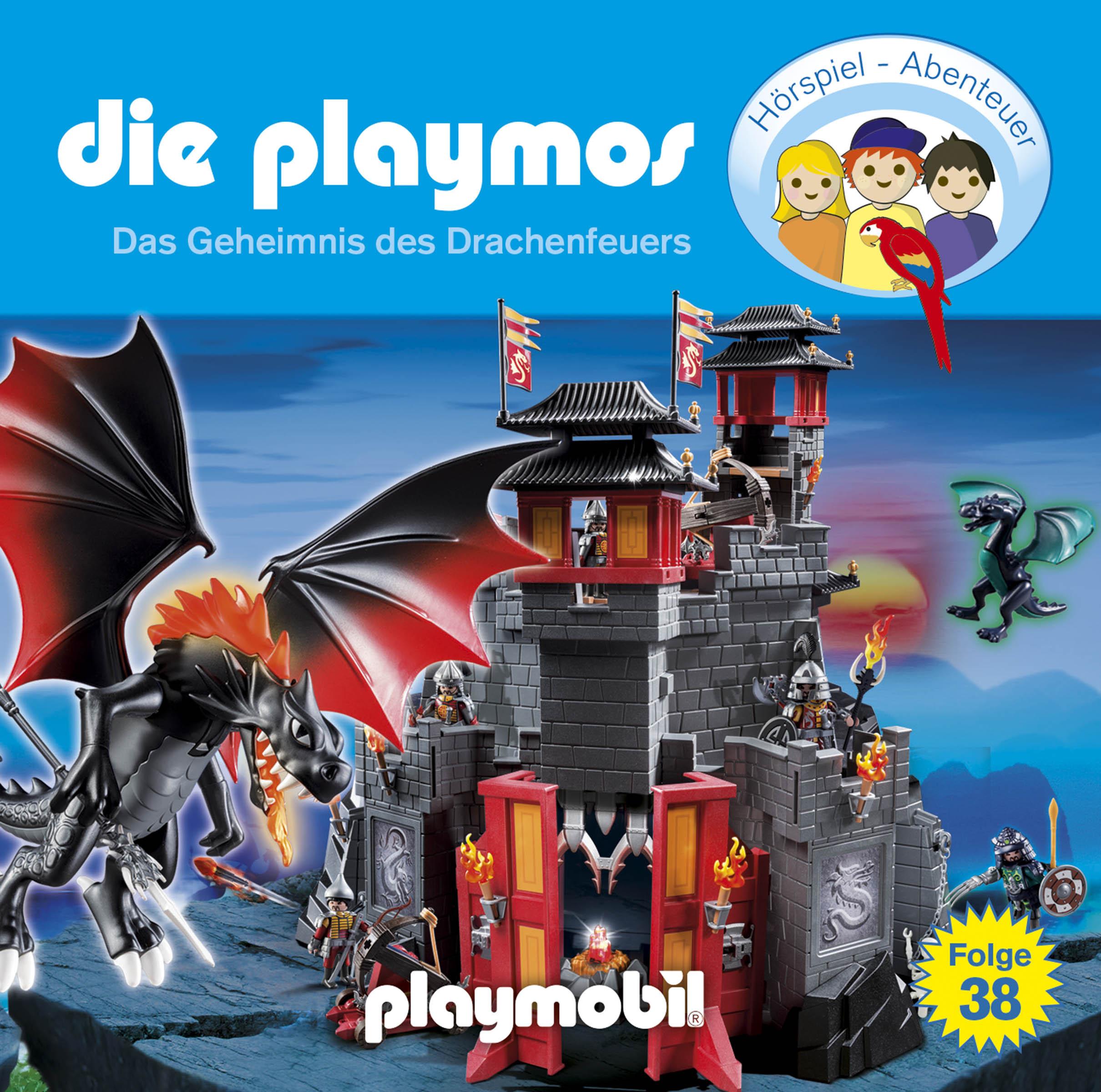 Die Playmos - Folge 38: Das Geheimnis des Drachenfeuers