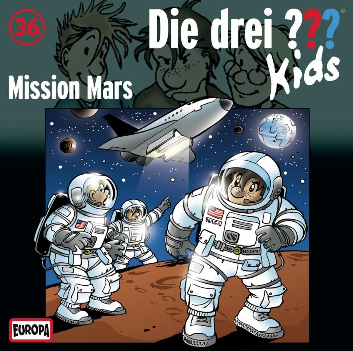 Die drei ??? Kids Folge 36 Mission Mars
