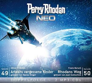 Perry Rhodan Neo MP3 Doppel-CD Folgen 49+50