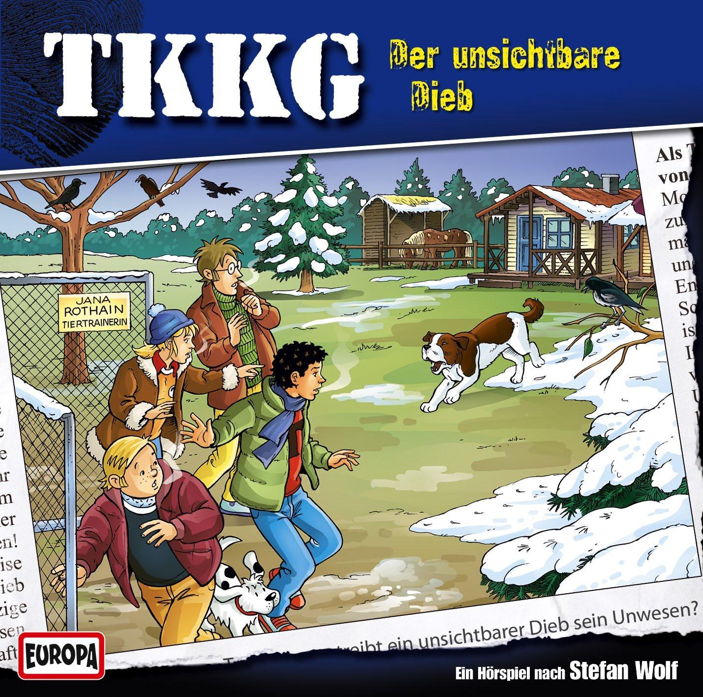 TKKG Folge 185 Der unsichtbare Dieb