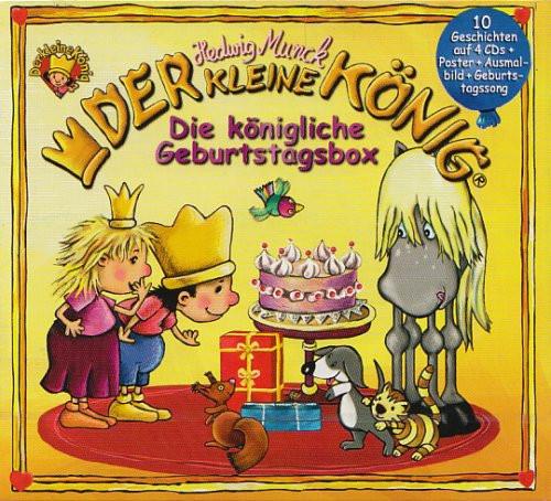 Der kleine König - Die königliche Geburtstagsbox (4 CDs)