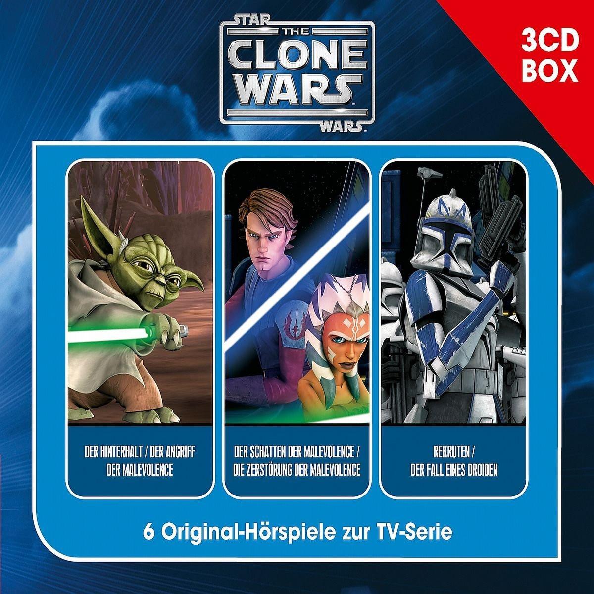 Star Wars - The Clone Wars - 3-CD Hörspielbox Vol. 1