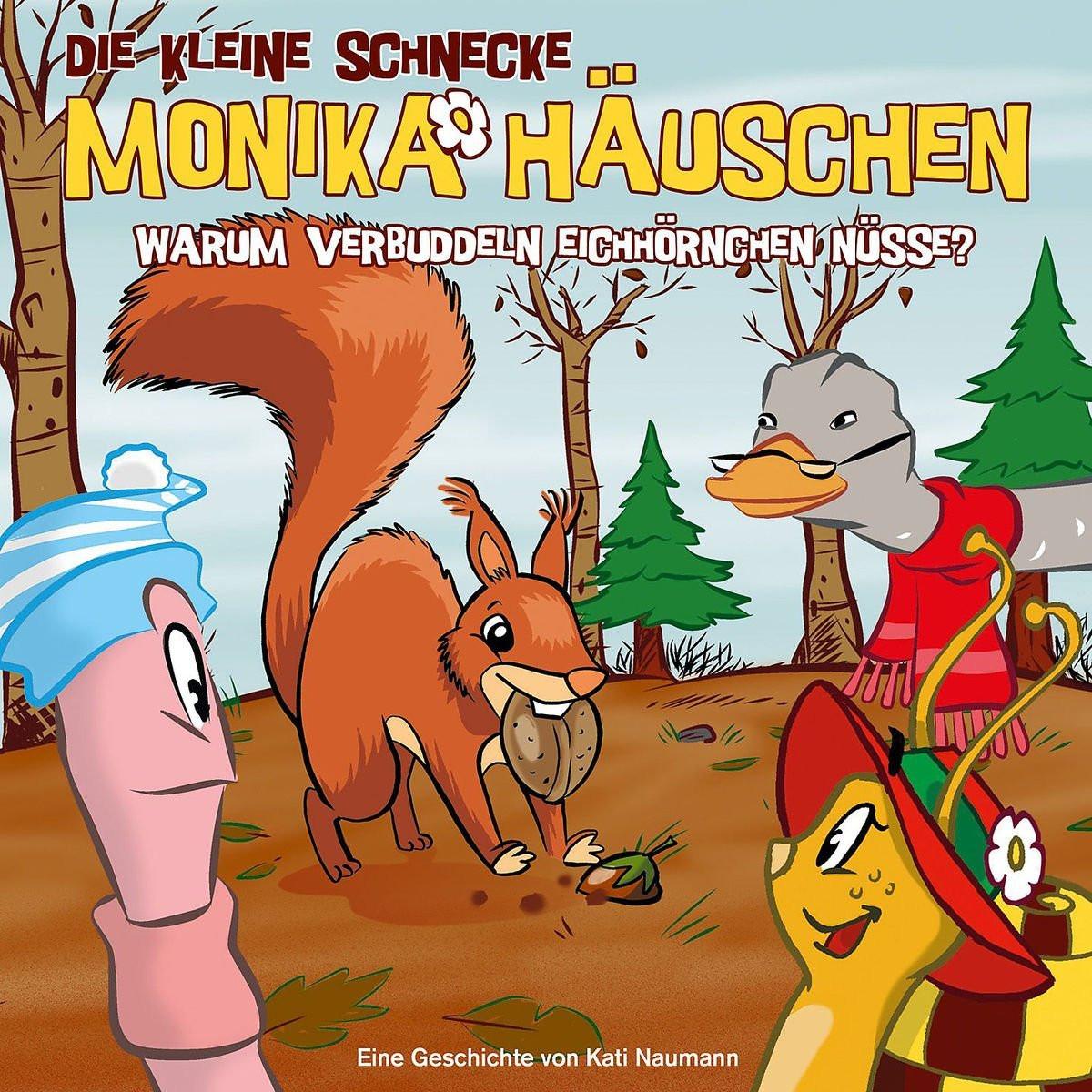 Monika Häuschen - 34: Warum verbuddeln Eichhörnchen Nüsse?