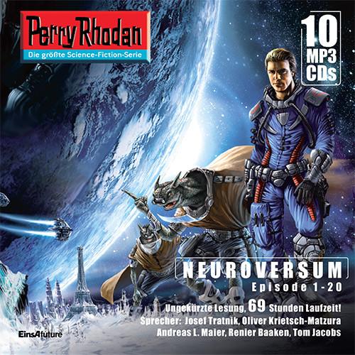 Perry Rhodan Sammelbox 1 Neuroversum-Zyklus 1-20