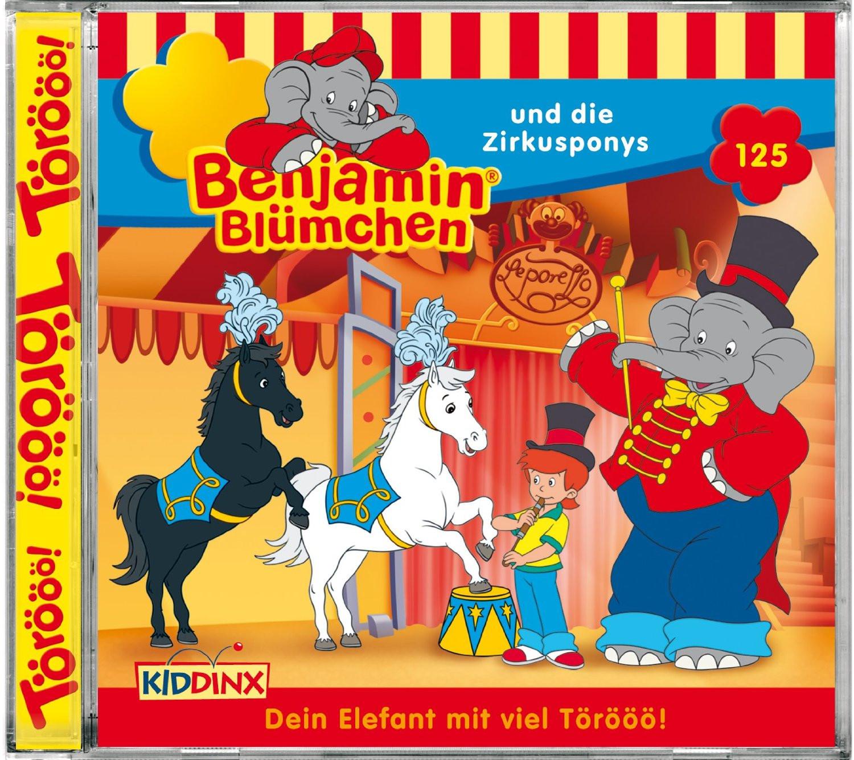 Benjamin Blümchen Folge 125 ...und die Zirkusponys
