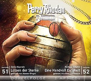 Perry Rhodan Neo MP3 Doppel-CD Folgen 51+52