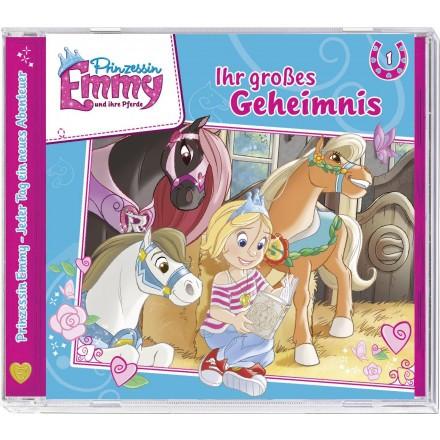 Prinzessin Emmy und ihre Pferde 01: Ihr großes Geheimnis