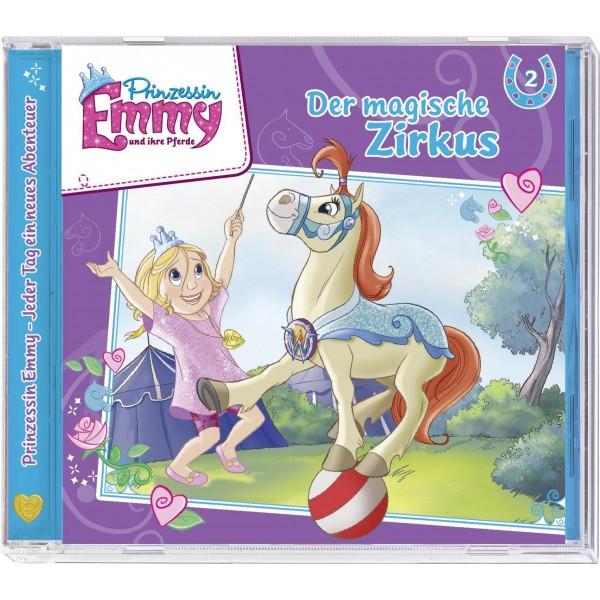 Prinzessin Emmy und ihre Pferde 02: Der magische Zirkus