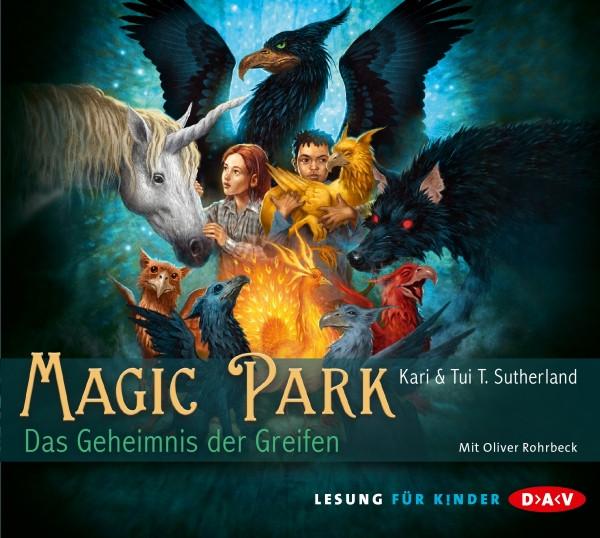 K. & T.T. Sutherland - Magic Park - Das Geheimnis der Greifen