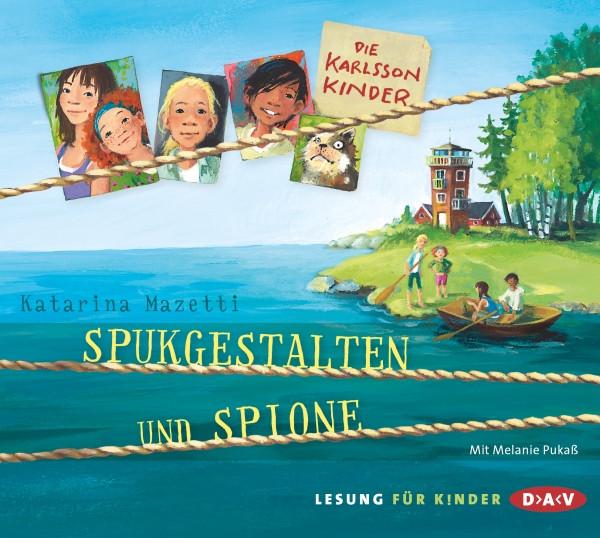 Katarina Mazetti - Die Karlsson Kinder - Teil 1: Spukgestalten und Spion