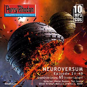 Perry Rhodan Sammelbox 2 Neuroversum-Zyklus 21-40