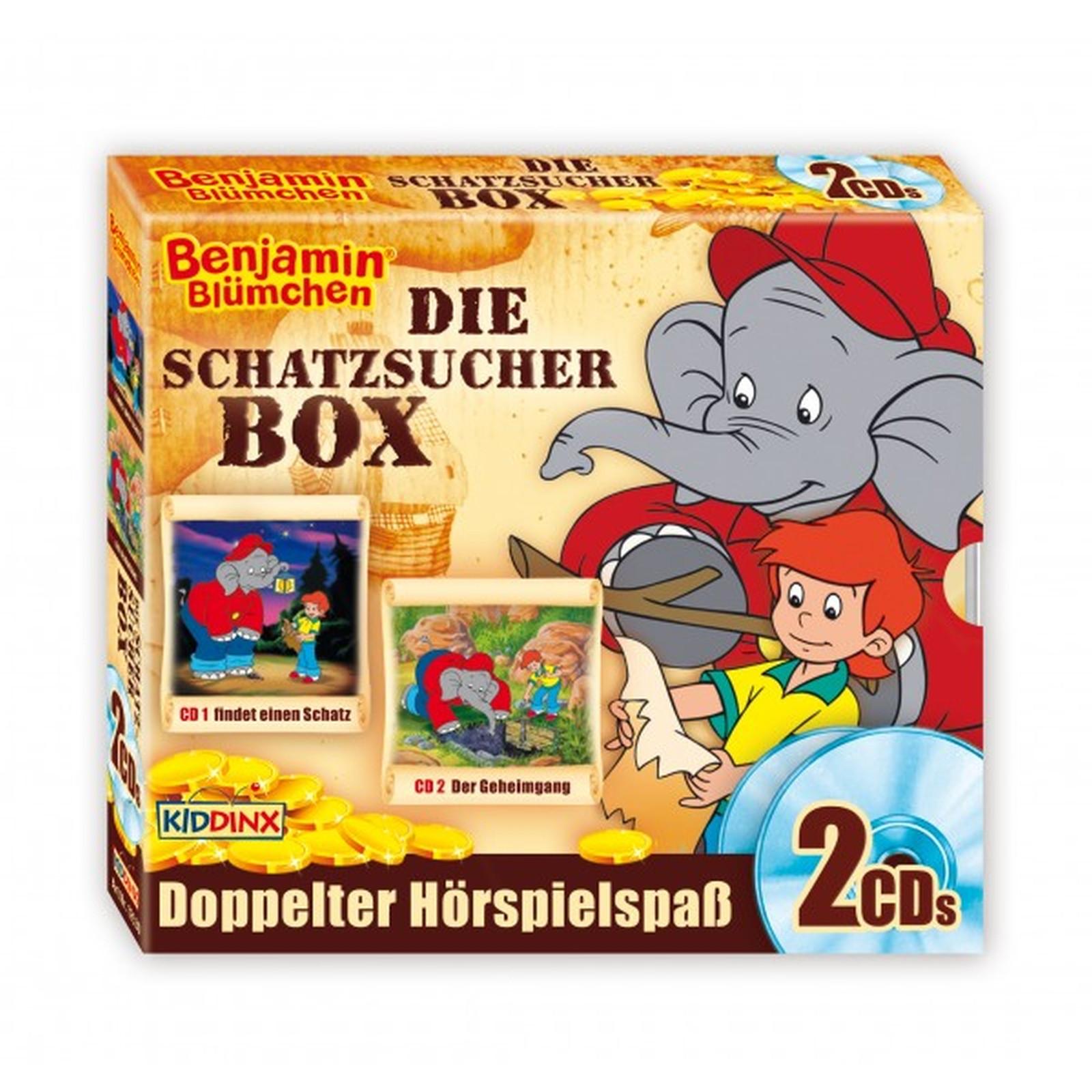 Benjamin Blümchen: Schatzsucher-Box (Folge 59 + 99) (2 CDs)