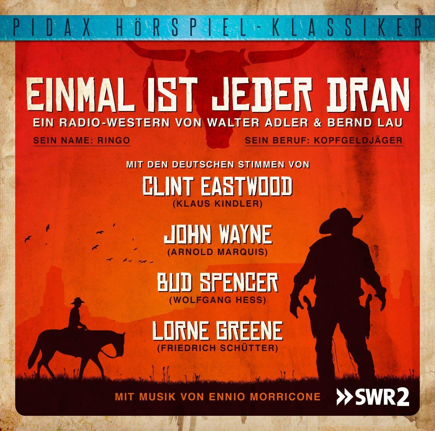 Pidax Hörspiel Klassiker - Einmal ist jeder dran (WDR-Hörspiel)