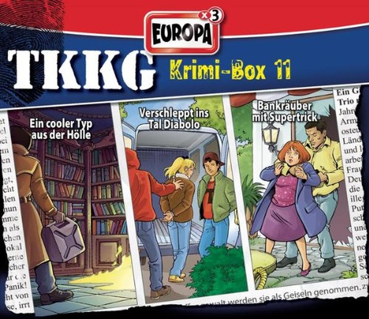 TKKG Krimi-Box 11 - Folge 121, 137, 142