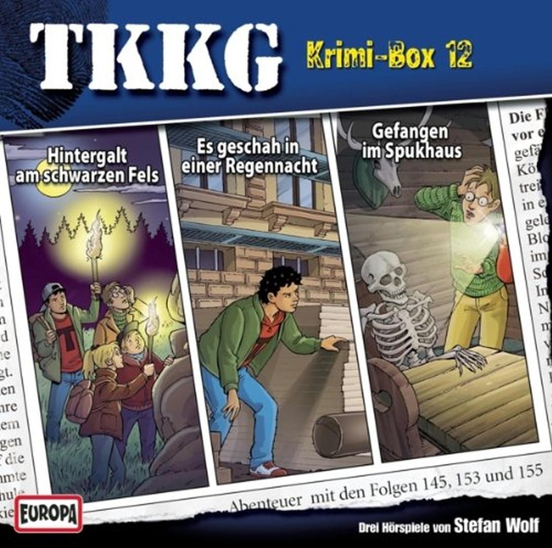 TKKG Krimi-Box 12 - Folge 145, 153, 155